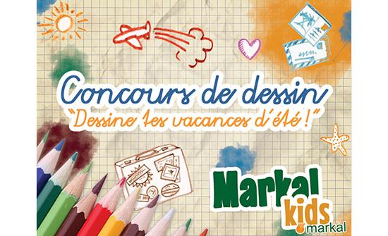 concours de dessin markal kids dessine tes vacances d t bio la une. Black Bedroom Furniture Sets. Home Design Ideas
