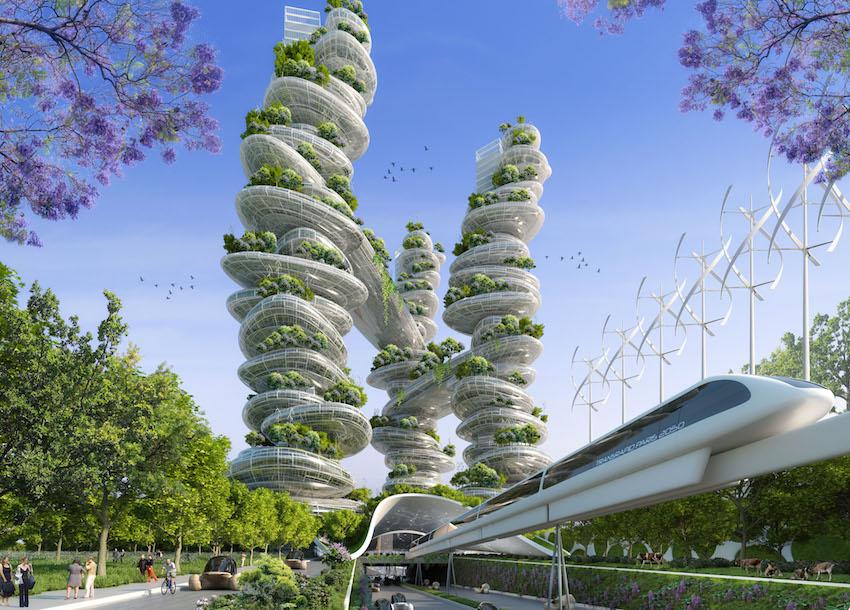 Architecture v g tale voil quoi pourrait ressembler for Architecture futuriste ecologique