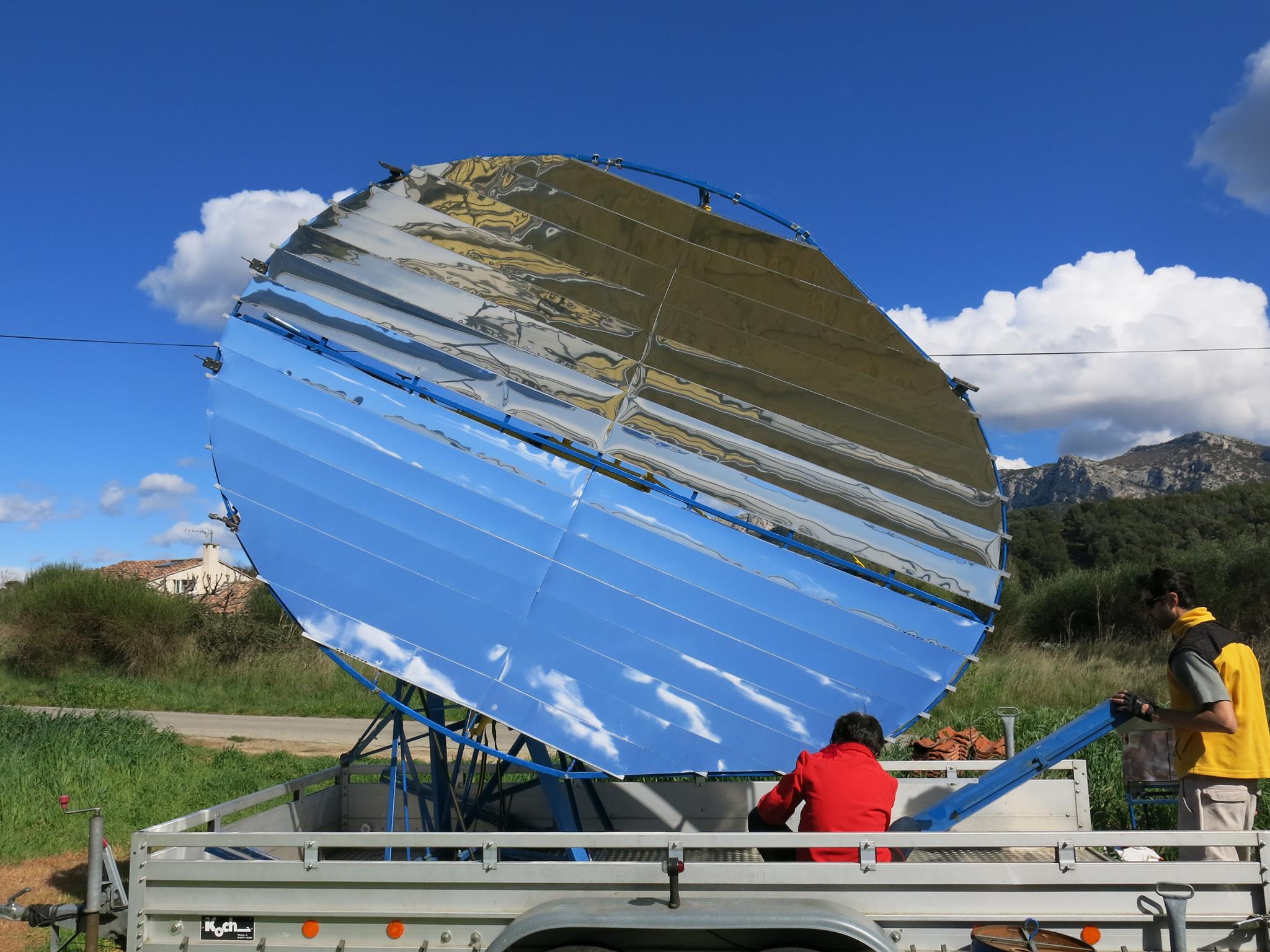 Il veut ouvrir le premier restaurant solaire autonome de france ...