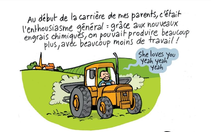 Bd l agriculture paysanne expliqu e aux urbains bio for Salon de la bd colomiers