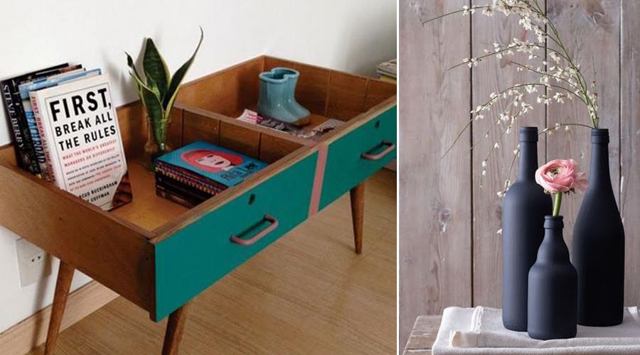 10 objets de d co uniques et colo faire avec de la r cup bio la une. Black Bedroom Furniture Sets. Home Design Ideas