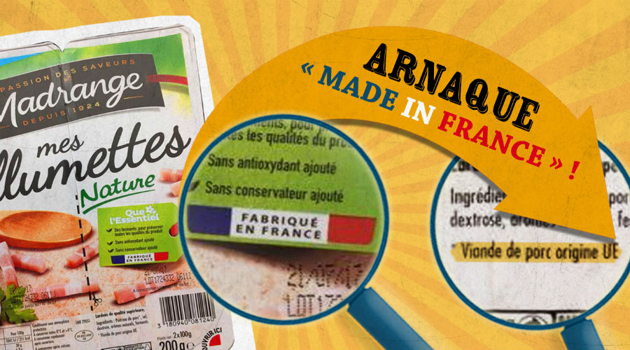 "Alimentation : Le ""made in France"" n'est pas toujours fiable"