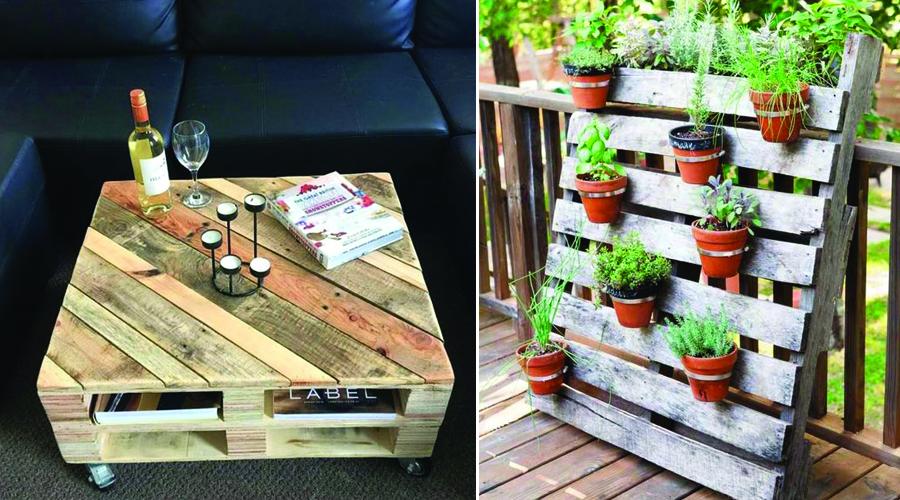 palette en bois 10 utilisations pour une d co r cup bio la une. Black Bedroom Furniture Sets. Home Design Ideas