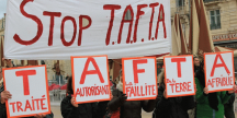 Manifestation anti TAFTA