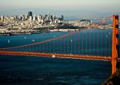 Baie de San Francisco et Golden Gate Bridge