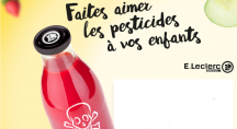 des pesticides dans un jus de fruits