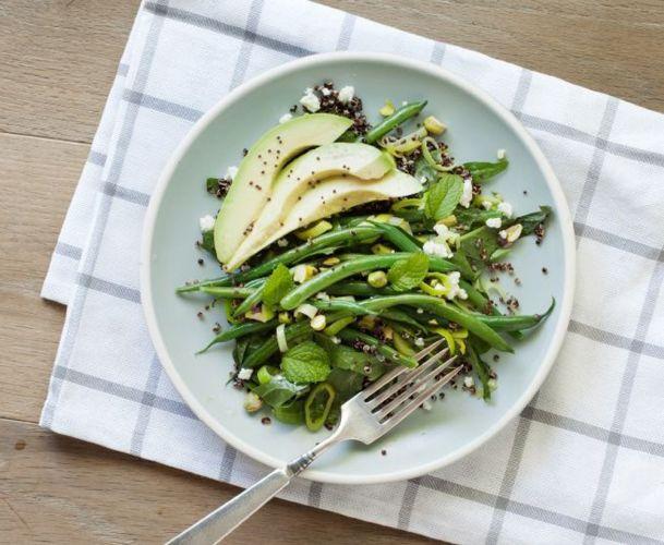 Assiette de légumes détox