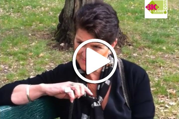 Christine Bouguet-Joyeux lors de son interview pour Bio à la Une
