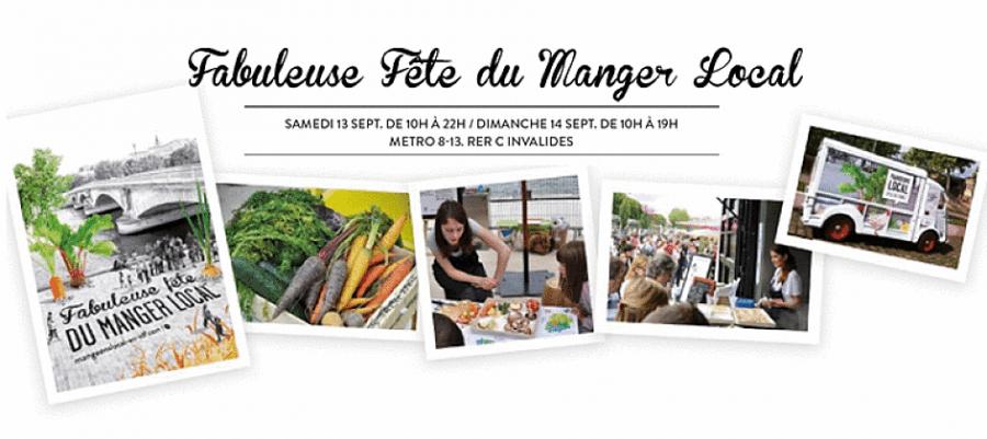 La Fabuleuse Fête du Manger Local, les 13 et 14 septembre à Paris