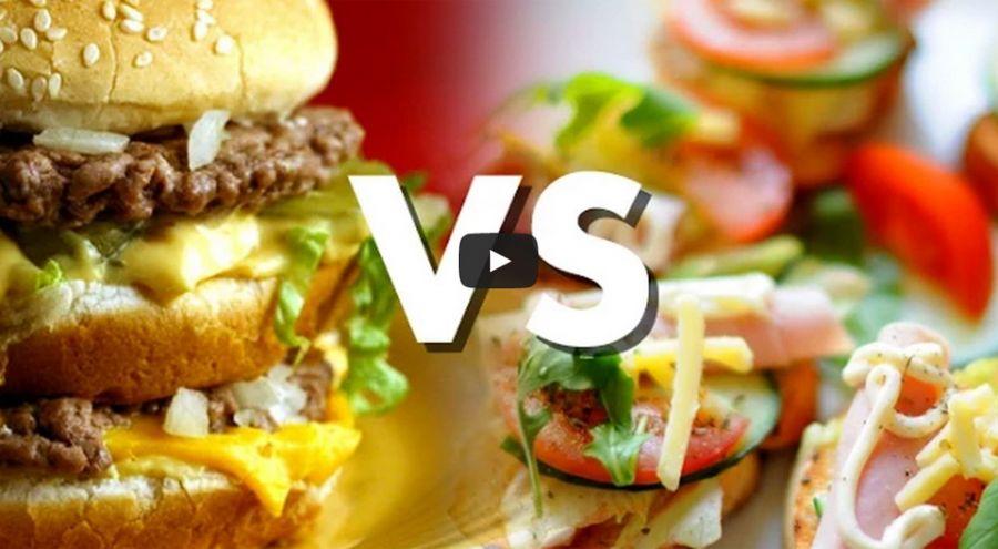 Nourriture bio versus nourriture gastronomique