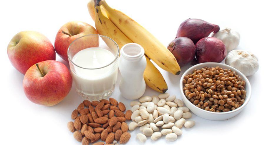 Packshot de produits alimentaires Probiotique