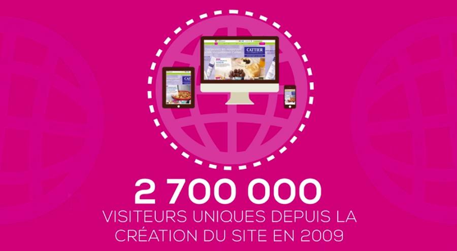 Plus de 2.5 millions d'internautes depuis 2009