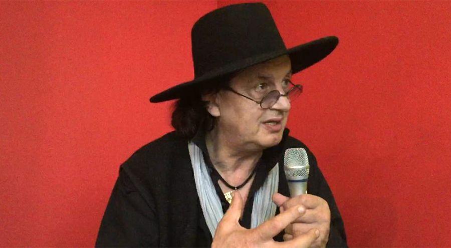 Le chef Marc Veyrat lors de son interview avec Bio à la Une à la bio dans les étoiles