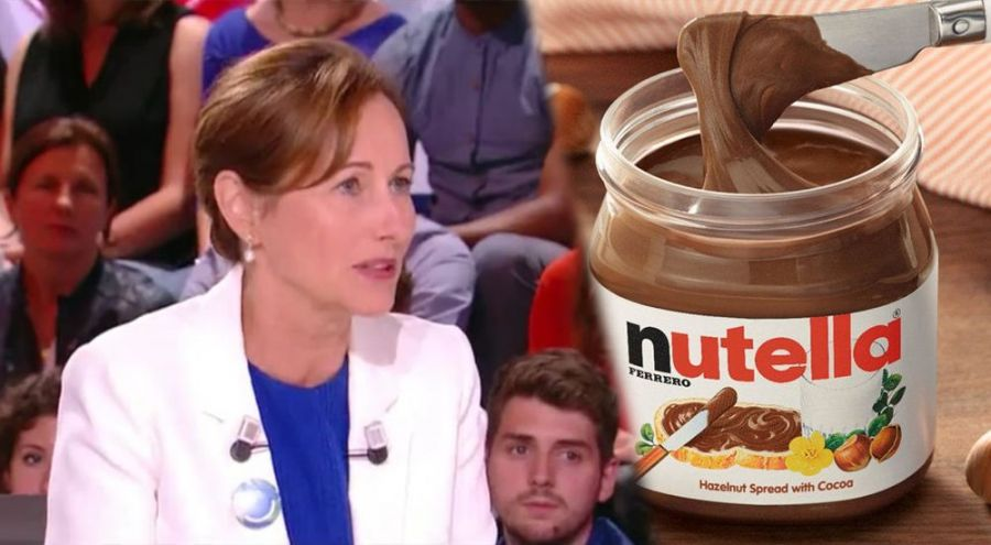 Ségolène Royal revient sur ses propos et s'excuse auprès de Nutella