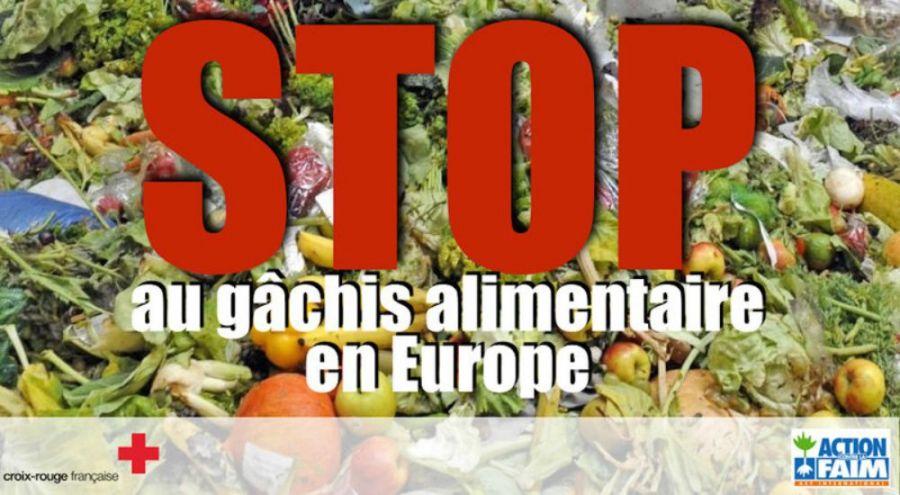 stop au gâchis alimentaire en europe