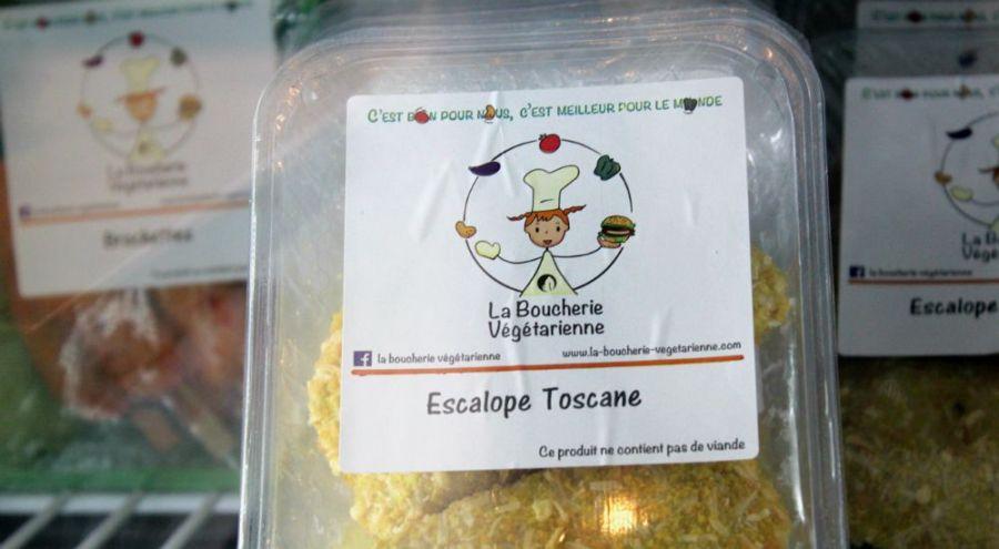 Escalope végétarienne
