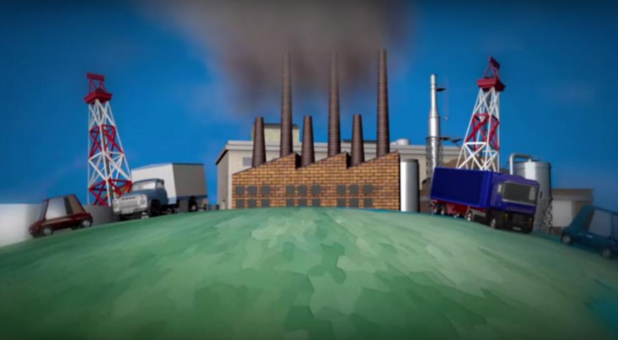 Illustration : le réchauffement climatique expliqué en vidéo par l'AFP