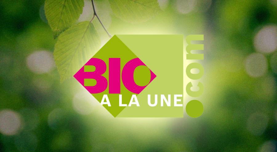 Logo de Bio à la Une sur fond vert