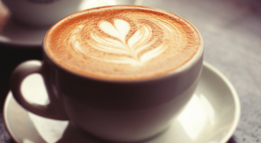 tasse de café crème