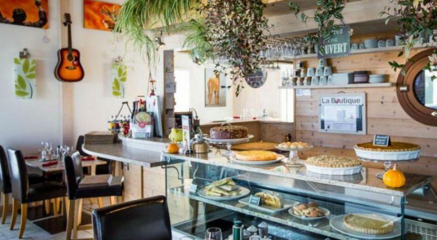 Le restaurant bio La Coccinelle, à Saint Martin de Ré