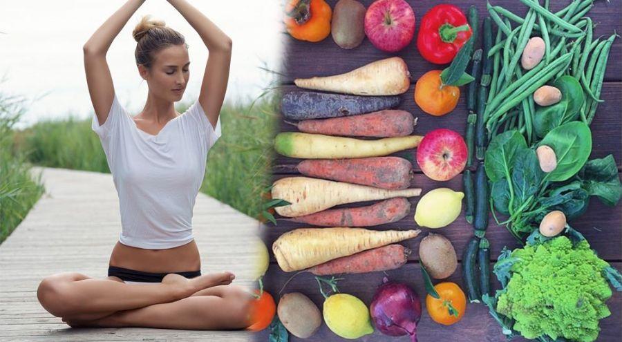 Julie en train de faire un exercice complexe de yoga