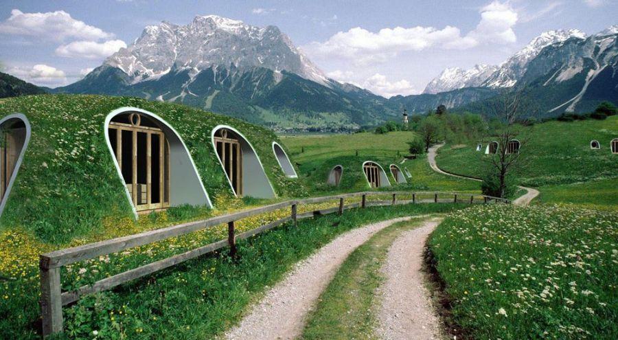 Construire Sa Maison De Hobbit En Kit Pour Moins De   Bio