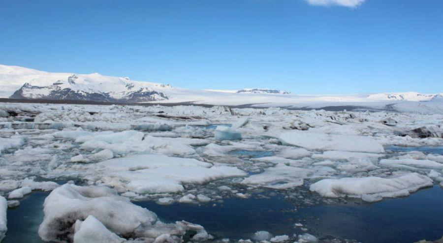 la fonte des glaces en Arctique
