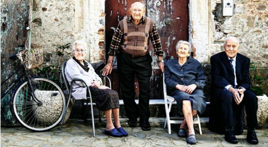 des centenaires vivent dans un petit village italien