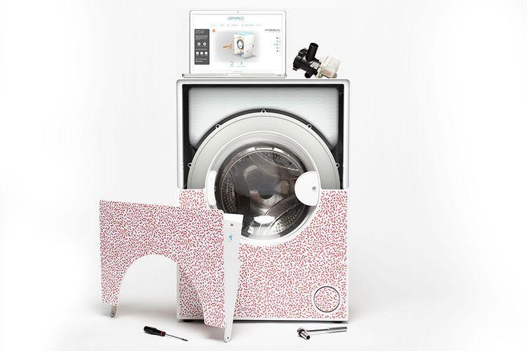 l 39 increvable cette machine laver cr e pour durer 50 ans bio la une. Black Bedroom Furniture Sets. Home Design Ideas