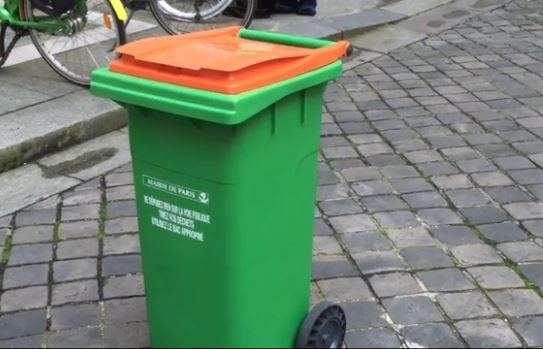 une nouvelle poubelle orange pour le compost arrive paris bio la une. Black Bedroom Furniture Sets. Home Design Ideas
