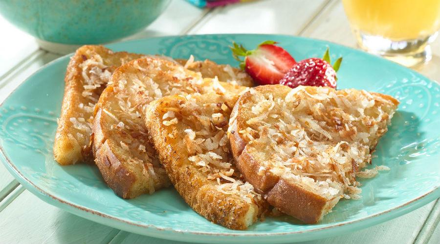 Le coconut toast pour des petits-déjeuners sains et gourmands
