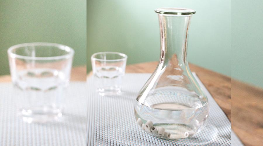 Assainissez l'eau du robinet grâce à ces perles en céramique