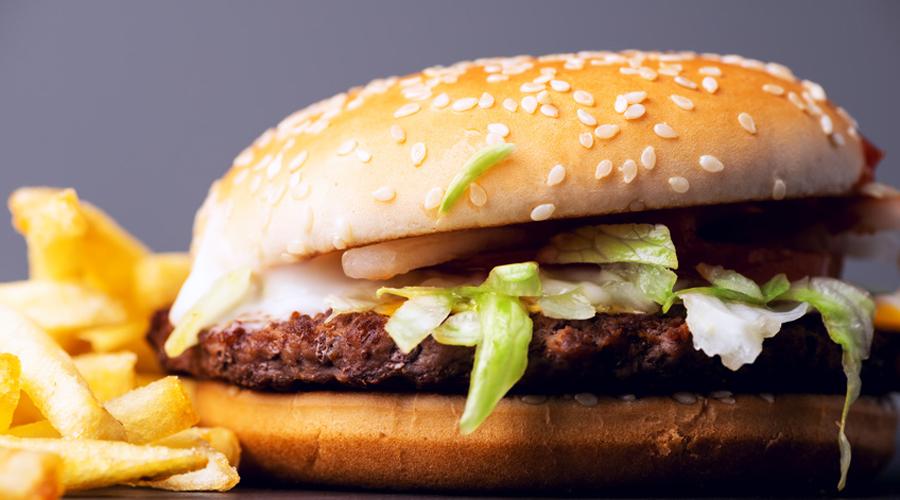 Menu hamburger frite McDonald's