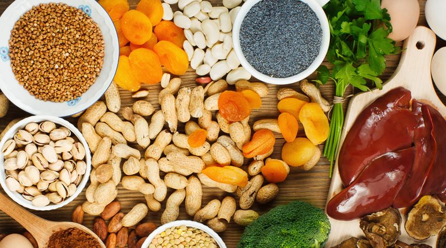 aliments riches en fer pour combattre l'anémie