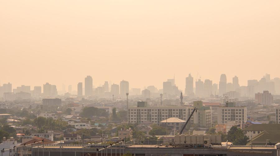 ville polluée pollution