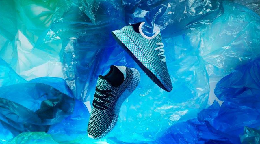 Adidas lance sa première basket en plastique recyclé