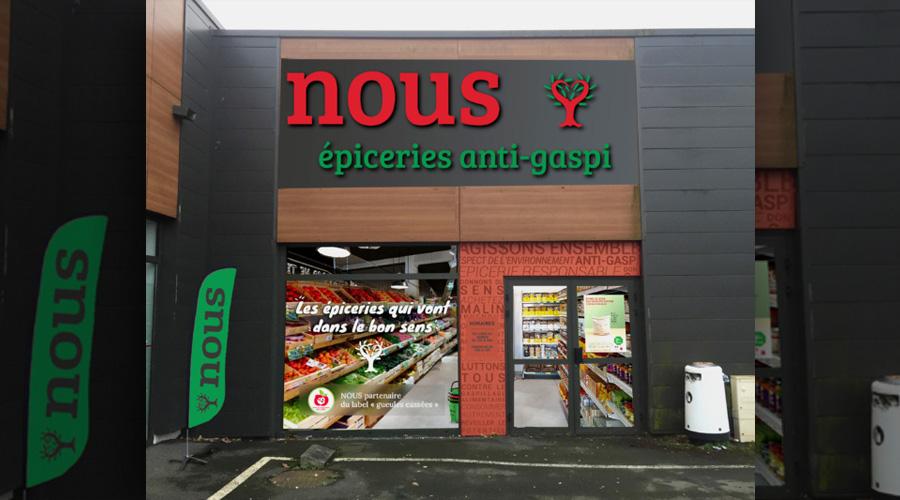 NOUS : le premier magasin anti-gaspillage ouvre ses portes en France