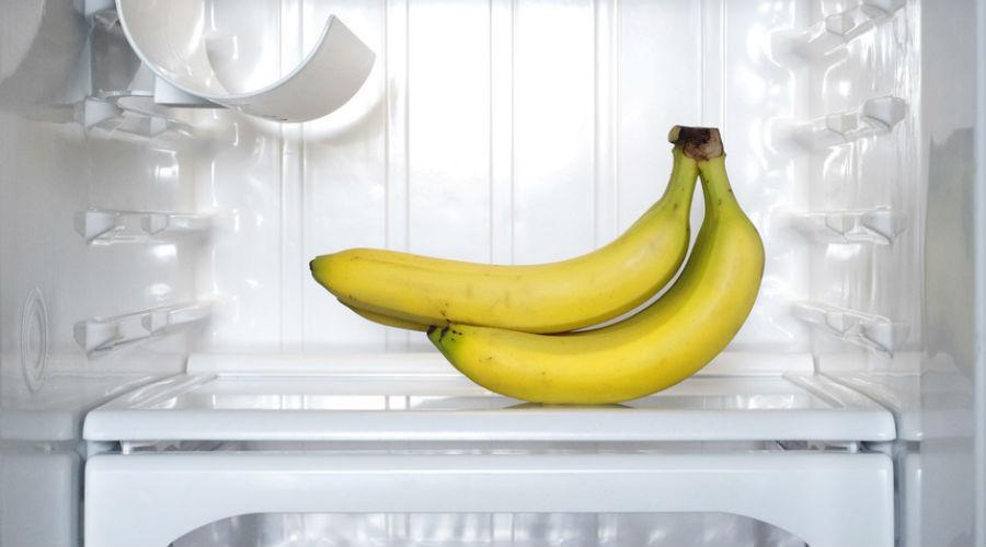 Voici ce qui arrive lorsque vous mettez vos bananes au frigo