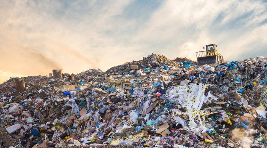 déchets population
