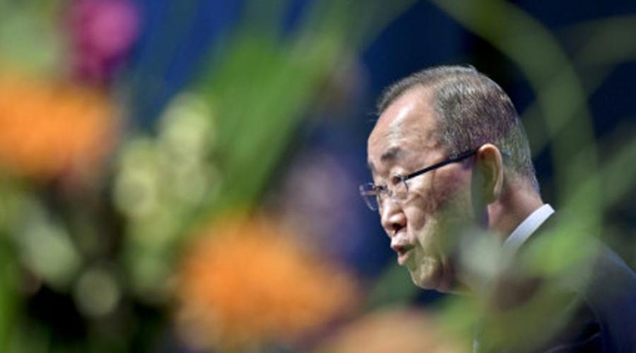 Ban Ki-moon, ancien secrétaire général de l'ONU