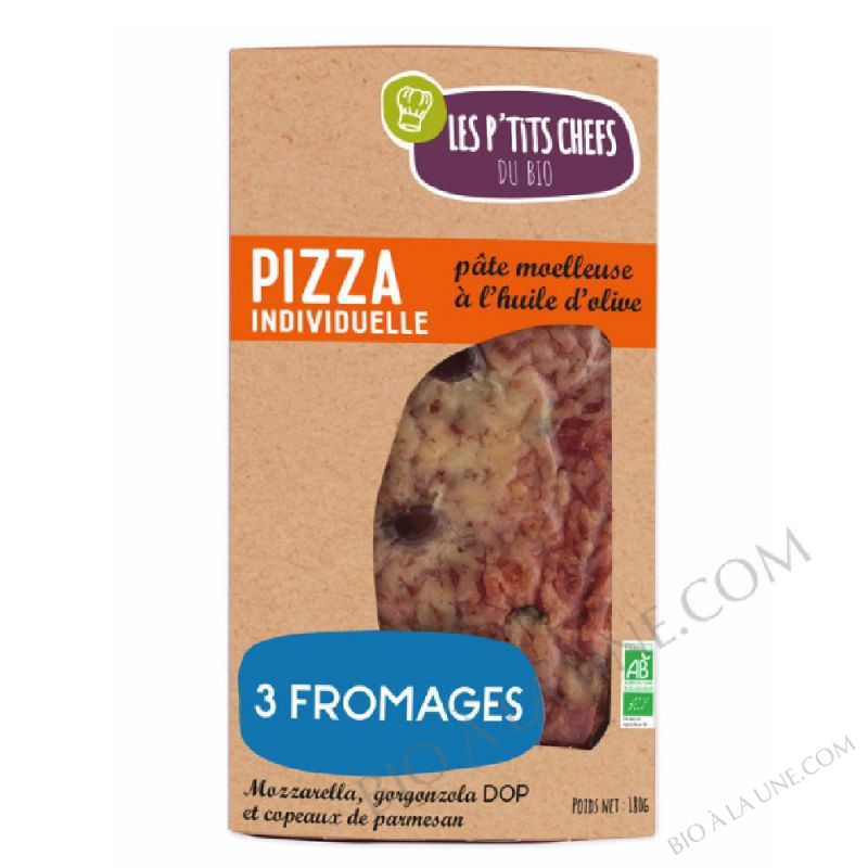 Pizza 3 Fromages - 180 G