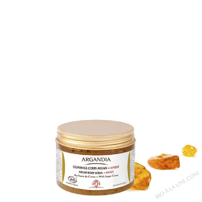 Gommage Corps Argan Ambre - 150 ml