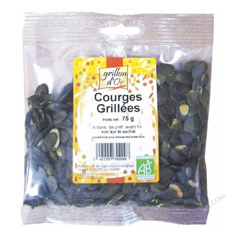 Courges grillees 75g