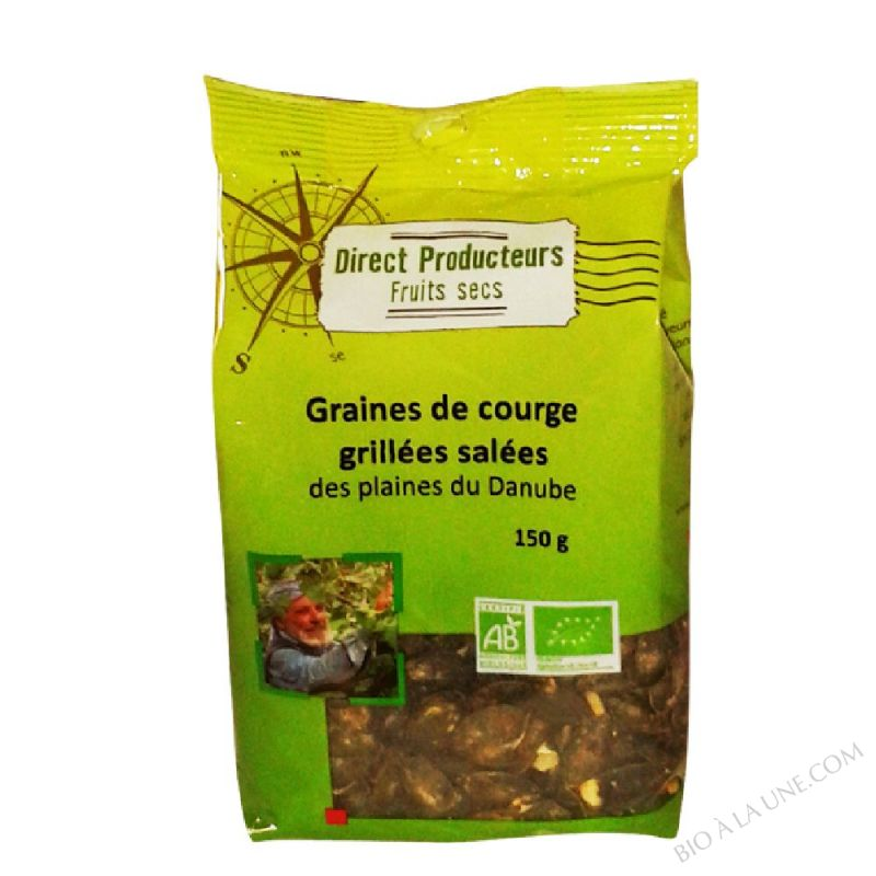 GRAINE COURGE GRILLEE SALEE 150G CERECO