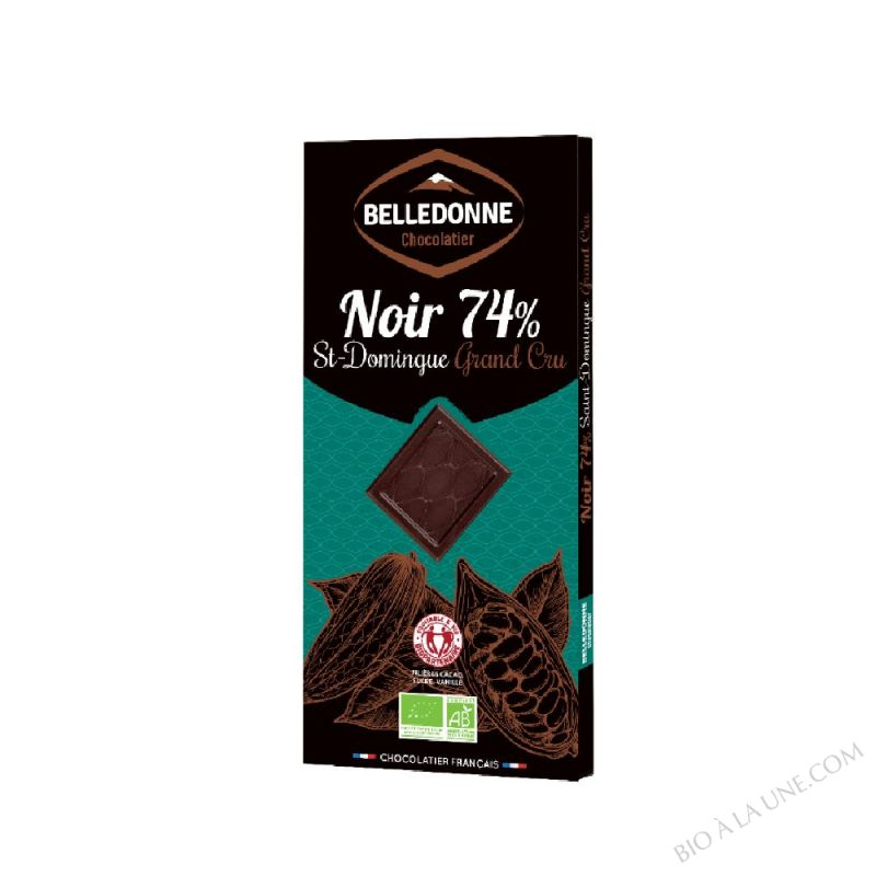 TABLETTE NOIR 74% ST DOMINGUE