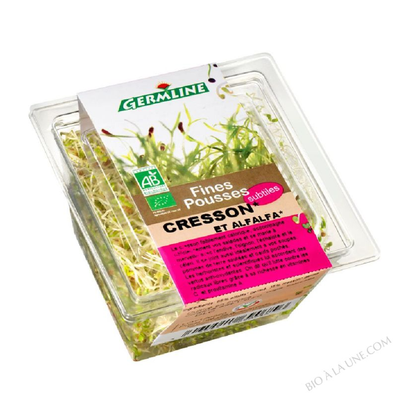GRAINES GERMEES CRESSON ALFALFA - 75G