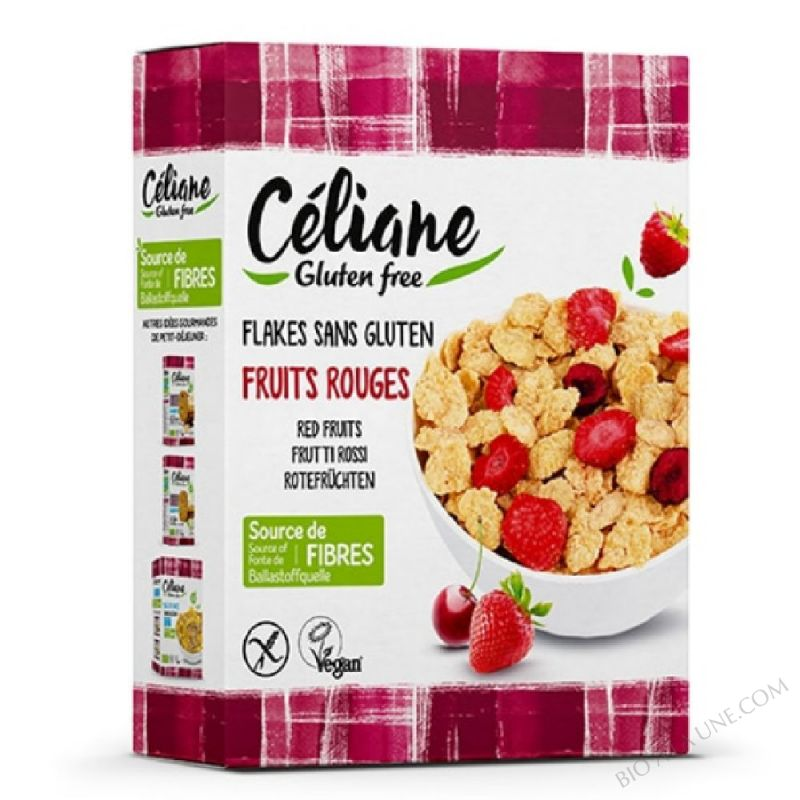 Flakes fruits rouges