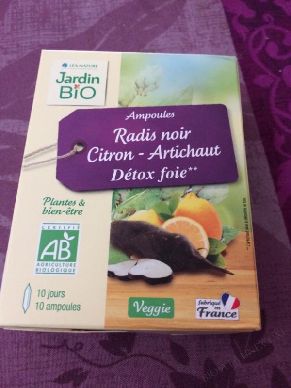 10 Ampoules Radis Noir Citron Artichaut Jardin Bio Bio A La Une