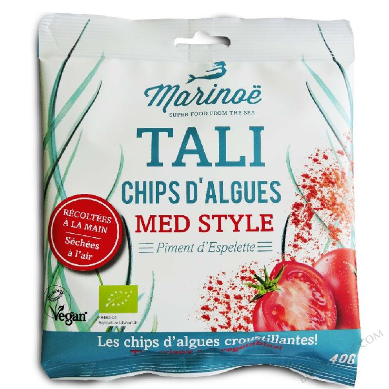 Tali - Chips d'algues Med Style - Marinoë