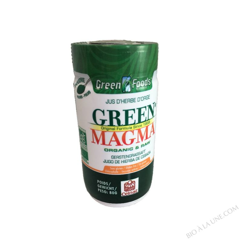 Green Magma jus d'herbe d'orge 80g
